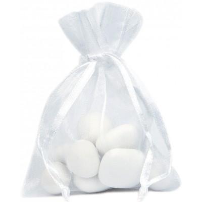 Sacs en organdi blanc (x10)