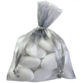 Sacs en organdi gris (x10)
