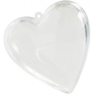 Coeur à garnir transparent