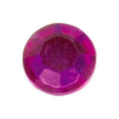 Diamants plats (x50) fuchsia