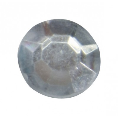 Diamants plats (x50) transparent