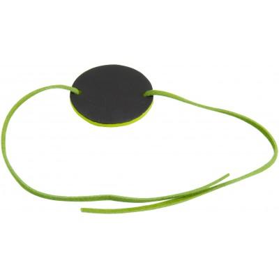 Bracelets ardoise et velours (x6) vert anis