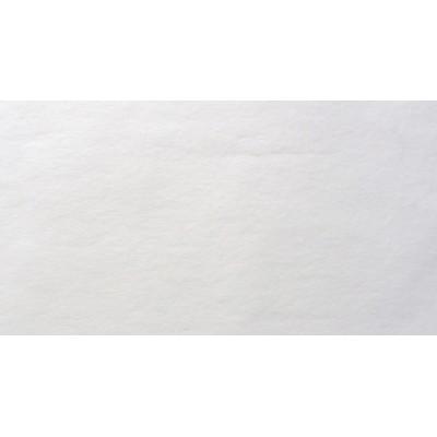 Nappe rectangulaire non tissée blanc