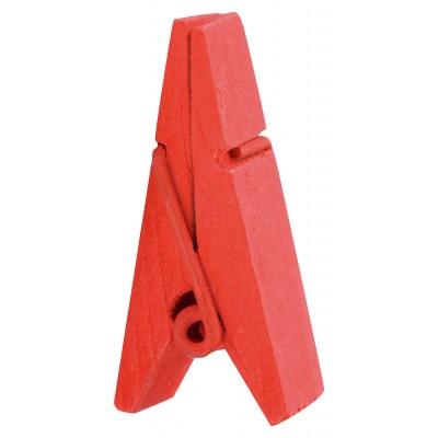 Pinces marque-places rouge (x12)