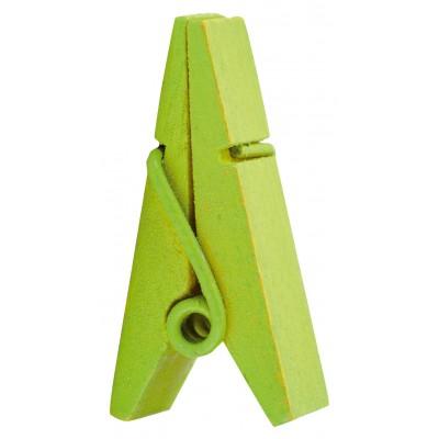 Pinces marque-places vert anis (x12)