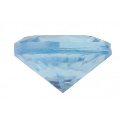 Petits diamants de déco (x50) bleu