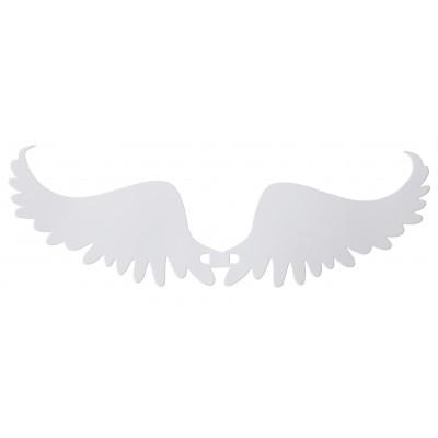 Ailes danges marque-places blanc (x6)