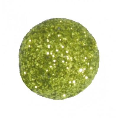 Mini boules festives (x50) vert anis