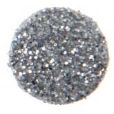 Confettis ronds pailletés (x50) argent