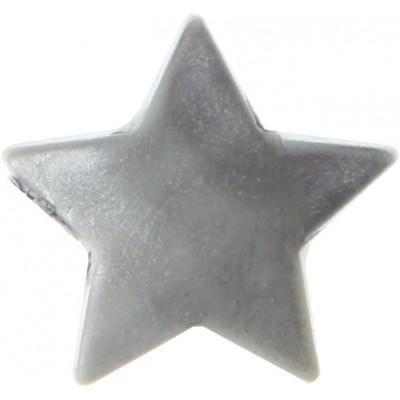 Mini étoiles métallisées (x12) argent