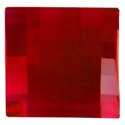 Grands diamants carrés à parsemer (x6) rouge