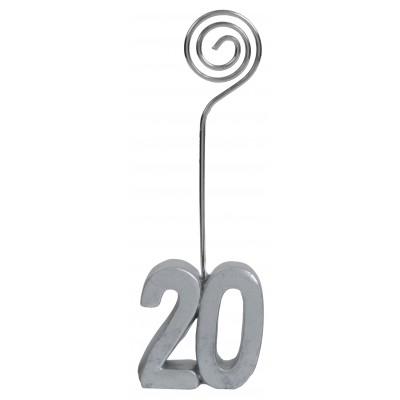 Marque-places âge 20 (x2) argent