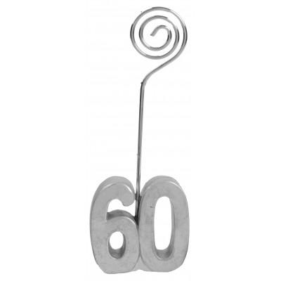 Marque-places âge 60 (x2) argent