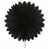 Eventails décoratifs (x2) noir
