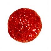 Mini boules festives (x50) rouges
