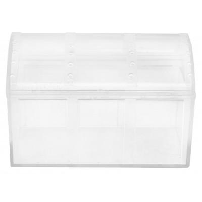 Mini coffre transparent à dragées