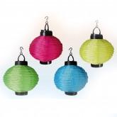 Lanterne chinoise imperméable et lumineuse (x4)