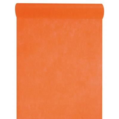 Chemin de table en non tissé orange