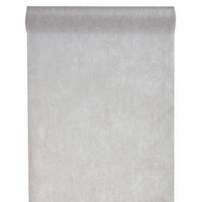Chemin de table en non tissé  gris