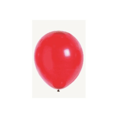 100 ballons nacrés Rouge