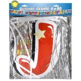 Guirlande géante Joyeux Anniversaire multicolore