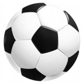 Sous verre Ballon de foot x 10
