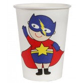 Gobelets Super Hero Boy x 10