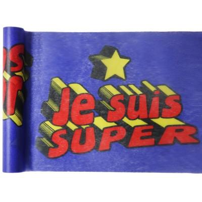 Chemin de Table Super Hero Boy