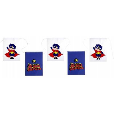 Banderole Fanions Super Hero Boy