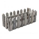 Cagette en bois rectangle 31x12cm
