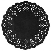 Set de table dentelle Noir x 10