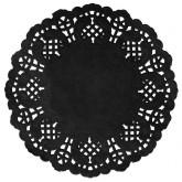 Set de table dentelle Noir x 10