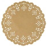 Set de table dentelle Kraft x 10