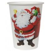 Gobelets Père Noël x 10