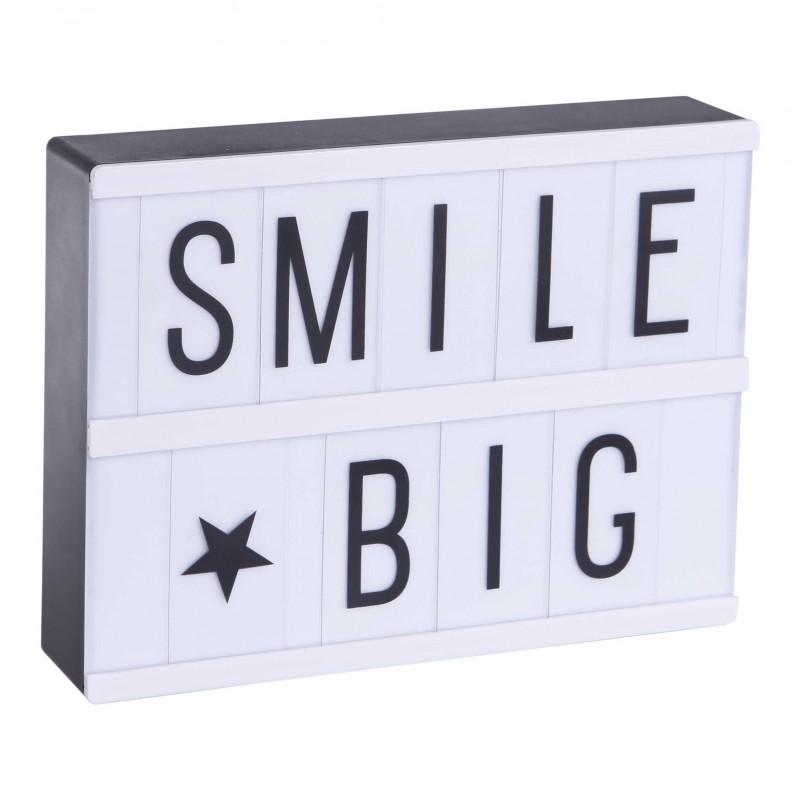 lightbox a5 set de 85 lettres. Black Bedroom Furniture Sets. Home Design Ideas
