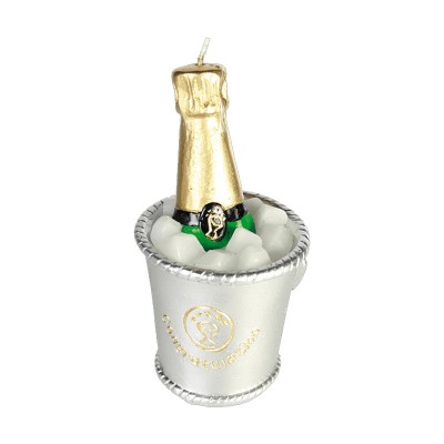 Bougie bouteille de champagne