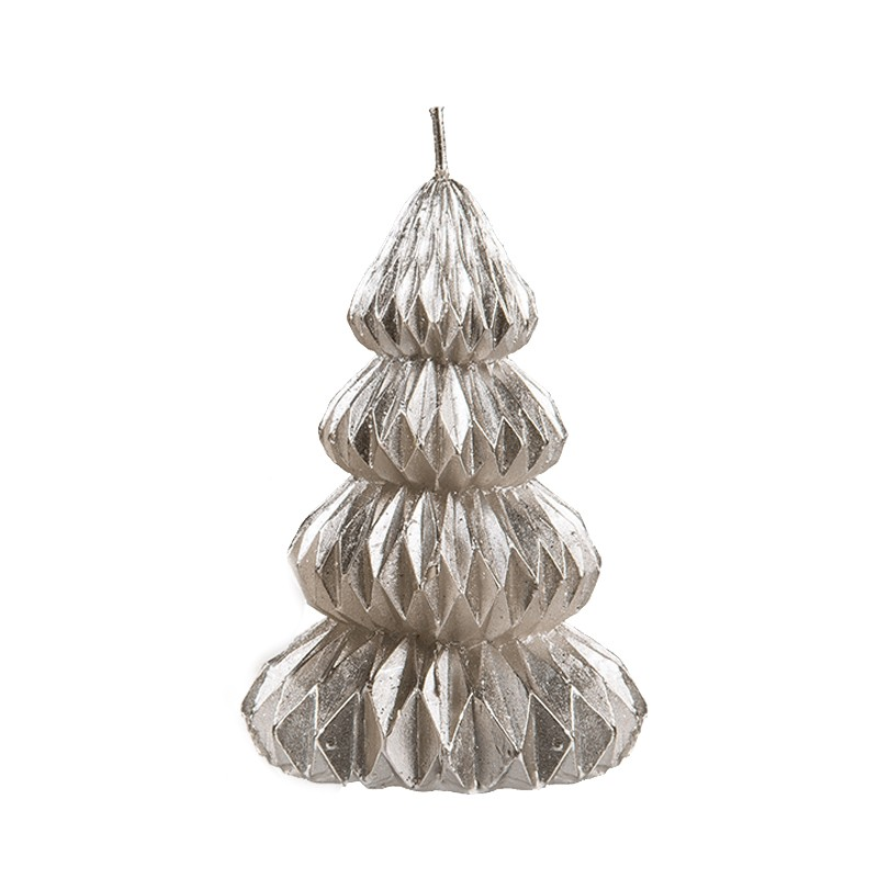 20 X Merry Christmas Tree en Forme de or blanc métallisé Imprimé fete serviettes