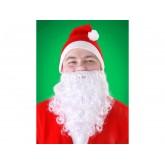 Barbe blanche de Père Noël adulte