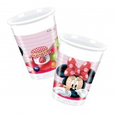 8 gobelets Minnie 20cl