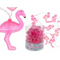 Guirlande lumineuse Flamants Roses - 10 Leds