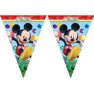 Guirlande Mickey à fanions