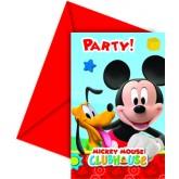 carte anniversaire mickey