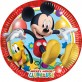 8 assiettes Mickey 23 cm Playful Mickey