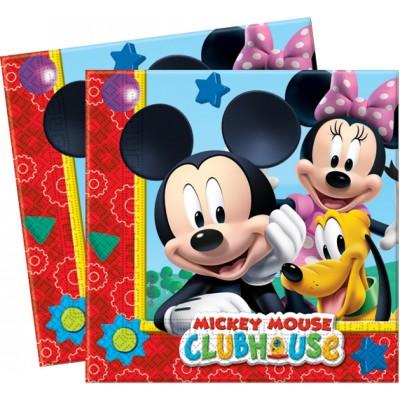 20 serviettes Mickey 33 x 33 cm