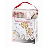 Kit de préparation Sablés Flocons - CUTIE PIE