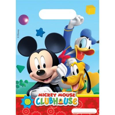 6 sacs cadeaux Mickey Mouse