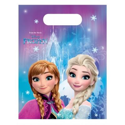 6 sacs cadeaux Reine des neiges Frozen Lights