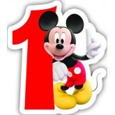 Bougie 1 an Mickey