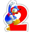 Bougie 2 ans Donald