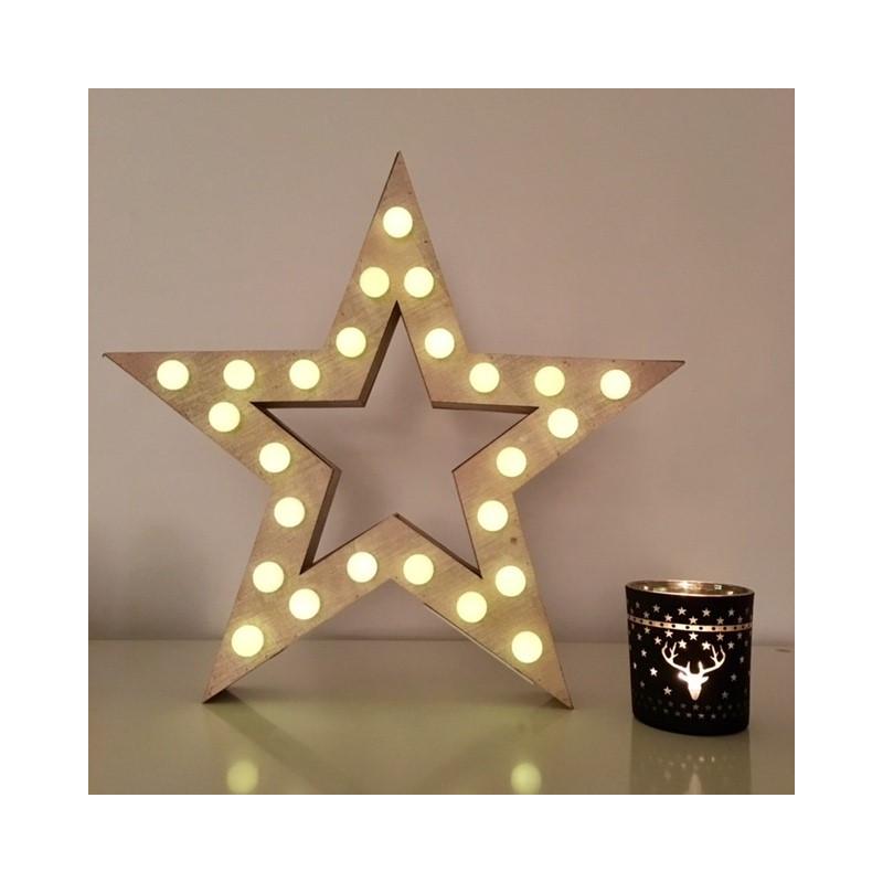 Decoration Noel Etoile Lumineuse